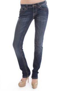 Miss Me MK 137 Straight Leg Jeans Clothing