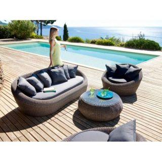 salon de jardin java   salon java   Comprenant : 1 canapé 101 x 201