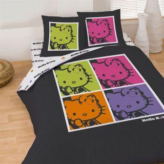 HELLO KITTY POP ART Parure de couette 240 x 200 cm   Achat / Vente