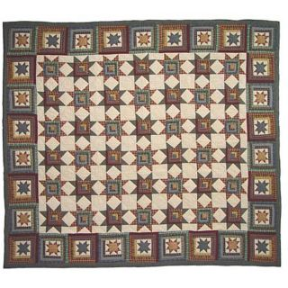 Cottage Star King size Quilt