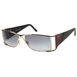 Cazal CAL 961 Womens Black Gold Fashion Sunglasses