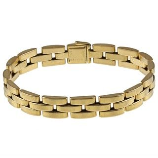 Cartier 18k Yellow Gold Panther Estate Bracelet