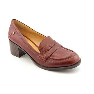 Nine West Womens New Kimmie Leather Casual Shoes