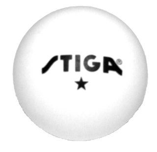 Star White Stiga Table Tennis Balls (1 Gross 144)