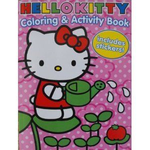 Coloring and Activity Book with 30 Stickers 144 Pages Toys & Games
