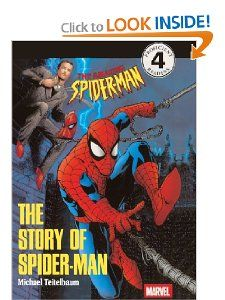 The Story Of Spider Man (Turtleback School & Library Binding Edition