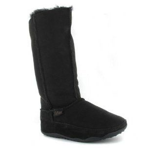 FitFlop Womens Mukluk Tall Boot,Black,9 M US Shoes