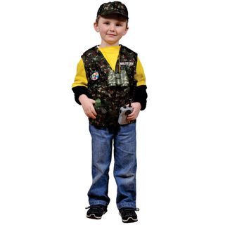 Dress Up America Kids Military Forces Role Play Dress Up Set
