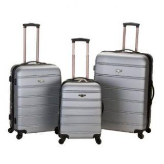 Rockland Luggage 3 Piece Carnival Hardside Spinner Set