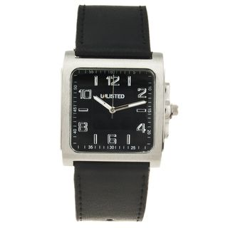 Unlisted by Kenneth Cole Mens Square Analog Watch