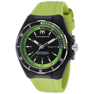 TechnoMarine Unisex Cruise Sport Green Silicone Watch