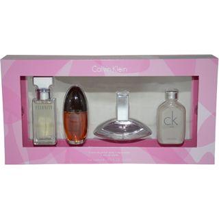 Calvin Klein Assorted Womens 4 piece Mini Gift Set