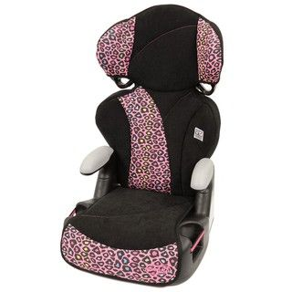 Evenflo Big Kid Sport Booster Seat in Neon Leopard