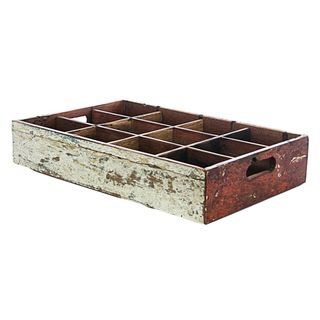 Ecologica Furniture Reclaimed Wood Bottle Tray