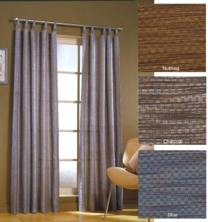Pixel 95 inch Tab Top Curtain Panel