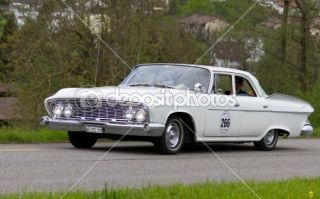 Vintage car Dodge Dart V8 Pioneer from 1961  Foto stock © Martin