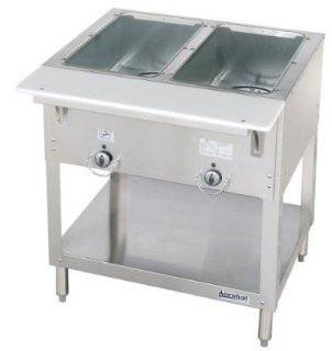 Duke E3022403 Aerohot Steamtable Hot Food Unit, 2 Wells