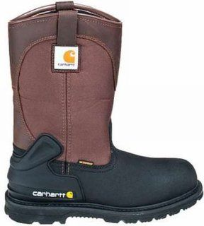in.Waterproof Insulated Soft Toe Pull On Boots Brown Size 8 Med Shoes
