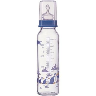 Biberon Bebe Verre Nuk 250 ml Pingouins   Achat / Vente BIBERON