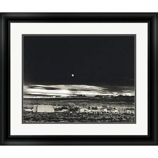 Ansel Adams Moonrise, Hernandez Framed Art