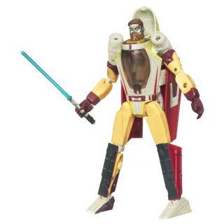 Star Wars Clone Wars Transformers Obi Wan/Jedi Sta   Achat / Vente