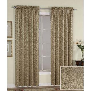 Fairmont Antique Gold 84 inch Curtain Panel Pair