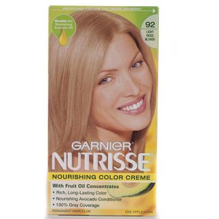 Garnier Nutrisse #92 Light Beige Blonde Hair Color (Pack of 4) Today