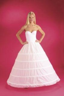 5 Bone Hoop Skirt Bridal Renaissance Civil War Skirt Slip