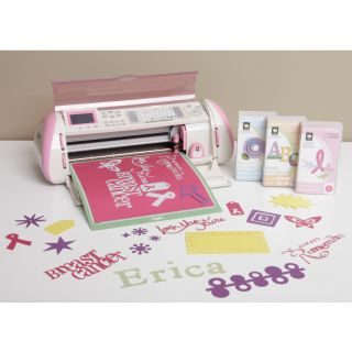 Cricut Pink Expression Die Cutting Machine with 3 cartridges Breast
