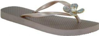Jamie Kreitman Smiling Daisy Wedge Flip Flop Thong Sandal: Shoes