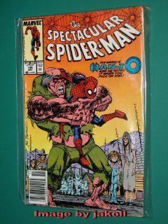 he Specacular Spider man Comic Book #156 November 1989 Marvel