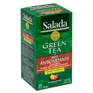 Salada Red Antioxidant Tea, 20 Count Box (Pack of 6)