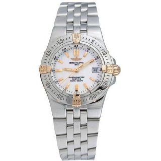 Breitling Womens Starliner Mother of Pearl Watch