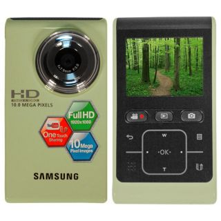 Samsung HMX U10 Ultra compact HD Green Camcorder (Refurbished