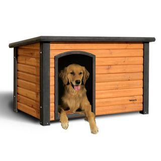 Precision Pe Medium Ouback Log Cabin Dog House