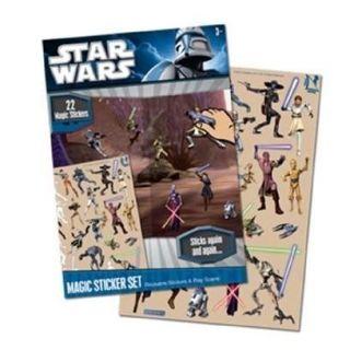 Stickers   Star Wars Magic Sticker   Achat / Vente STICKER DECORATIF