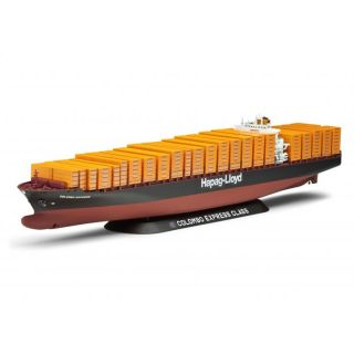 Colombo Express   Cette maquette contient 256 pièces