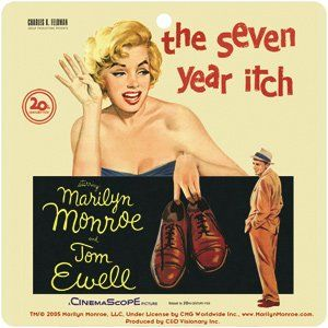 Marilyn Monroe Seven Year Itch Car Air Freshener *SALE