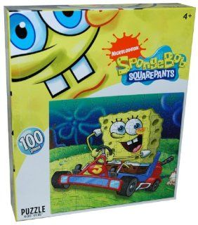 Nickelodeon SpongeBob Squarepants 100 Piece Puzzle, Riding
