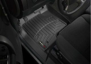 2008 2012 Chevrolet Silverado Crew Cab Black Weathertech Floor Liner