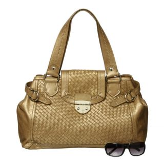 Elliott Lucca Gen Bryce Gold Shopper Bag
