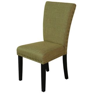 Monsoon Adorno Upholstered Basil Linen Dining Chairs (Set of 2