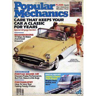 Keep Your Car a Classic   Popular Mechanics   May, 1985