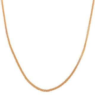 Rose Gold 1 mm Square Wheat Chain Today $129.99   $189.99