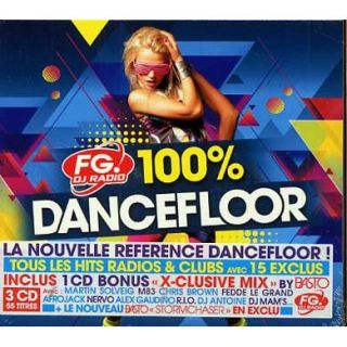 Compilation   100% dancefloor   Universal Music France   Compilation