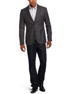Faconnable Tailored Denim Mens Unconstructed Jacket