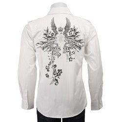 Unlimited 191 Mens Military Epaulet Shirt