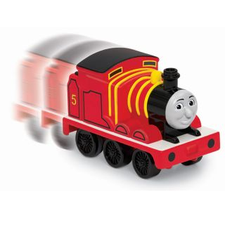 Fisher Price Pull back James Toy Train