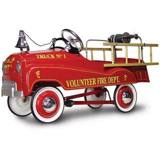 Volunteer Fire Truck Pedal Car