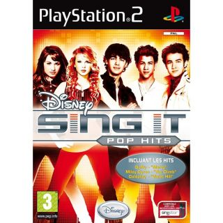 SING IT POP HITS / JEU CONSOLE PS2   Achat / Vente PLAYSTATION 2 SING